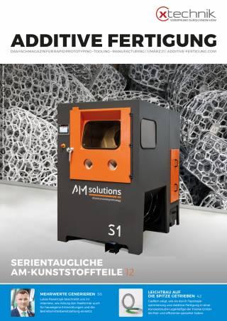 Additive Fertigung Ausgabe 1/März 2021