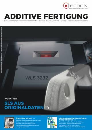 Additive Fertigung Ausgabe 2/Mai 2021