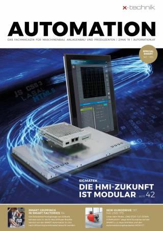 Automation Ausgabe 2/Mai 2019