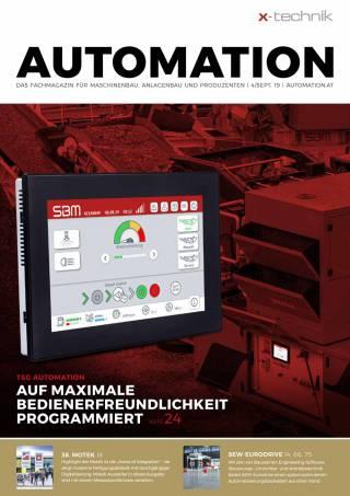 Automation Ausgabe 4/September 2019