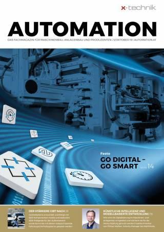 Automation Ausgabe 5/Oktober 2019