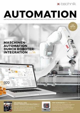 Automation Ausgabe 6/November 2019