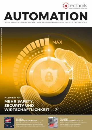 Automation Ausgabe 4/September 2020