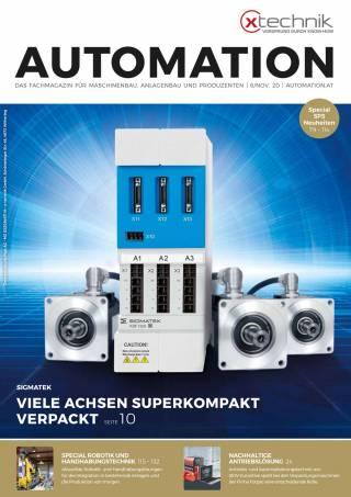 Automation Ausgabe 6/November 2020