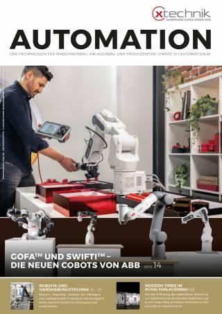 Automation Ausgabe 1/März 2021