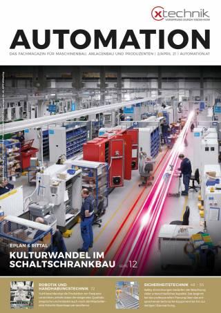 Automation Ausgabe 2/April 2021
