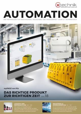 Automation Ausgabe 4/Juni 2021