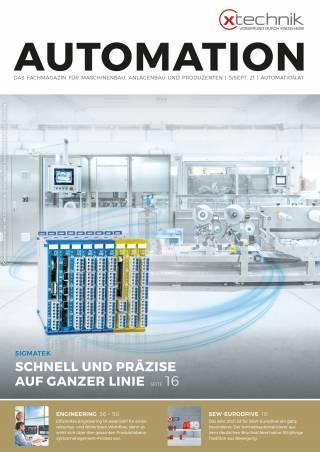 Automation Ausgabe 5/September 2021