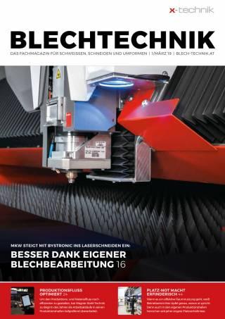 Blechtechnik Ausgabe 1/März 2019