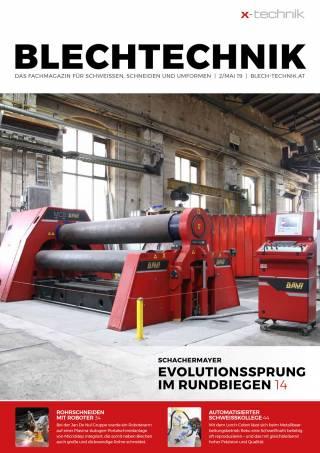 Blechtechnik Ausgabe 2/Mai 2019