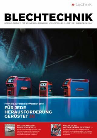Blechtechnik Ausgabe 4/September 2019