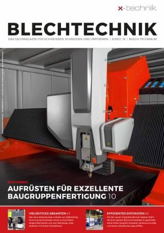 Blechtechnik Ausgabe 6/Dezember 2019
