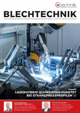 Blechtechnik Ausgabe 4/September 2020