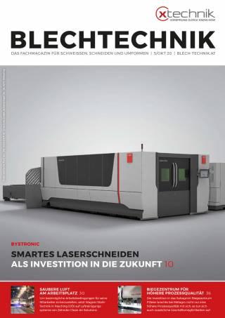 Blechtechnik Ausgabe 5/Oktober 2020