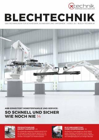 Blechtechnik Ausgabe 6/Dezember 2020