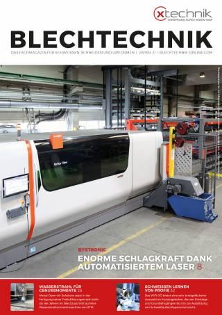 Blechtechnik Ausgabe 1/April 2021