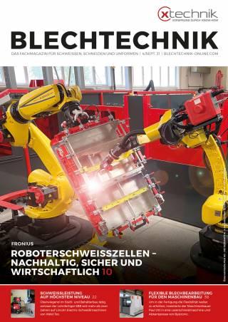 Blechtechnik Ausgabe 4/September 2021