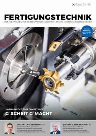 Fertigungstechnik Ausgabe 2/Mai 2019