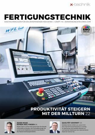 Fertigungstechnik Ausgabe 4/September 2019