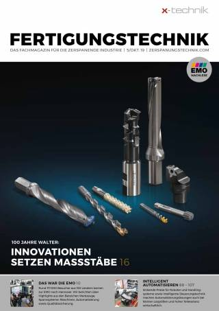 Fertigungstechnik Ausgabe 5/Oktober 2019