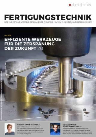 Fertigungstechnik Ausgabe 6/November 2019
