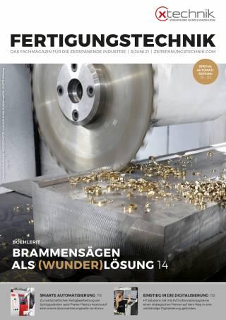 Fertigungstechnik Ausgabe 3/Juni 2021