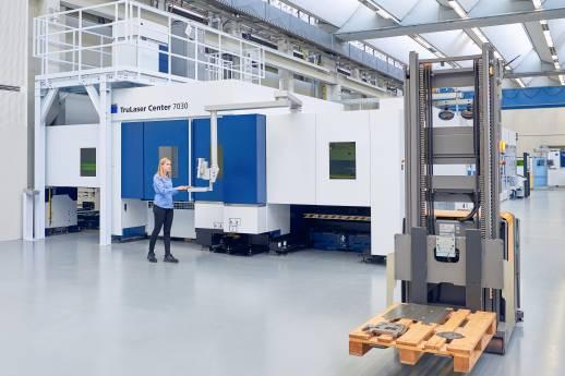Effizienterer Materialfluss in der Fertigung
