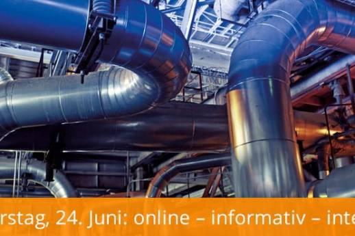 Online-Fachtag Anlagenbau 2021