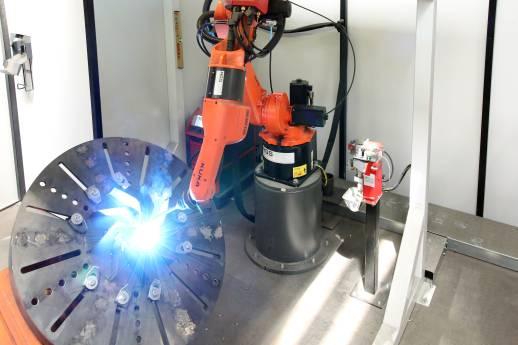 Hochproduktives Roboterschweißen ab Losgröße 1