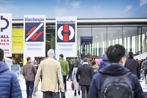 Blechexpo/Schweisstec: Branchenplayer zeigen Präsenz
