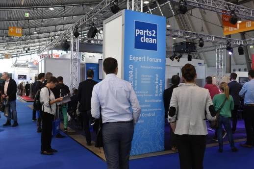 parts2clean: vom 5. bis 7. Oktober in Stuttgart