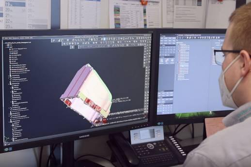 CAD/CAM-Lösung zum Ausloten von Maschinen- und Programmgrenzen