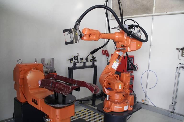Komponenten der Roboterzelle
