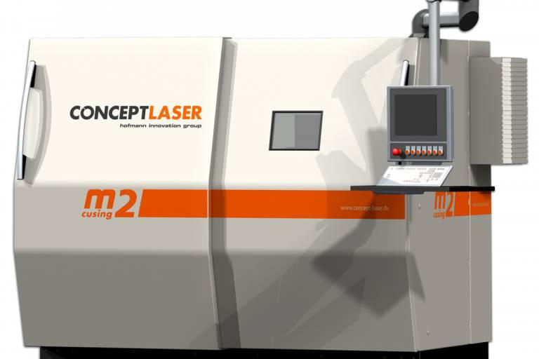 Neue ConceptLaser M2 im Einsatz