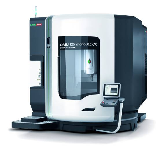 Mit der DMU 125 monoBLOCK® präsentiert DMG / MORI SEIKI das größte Modell dieser Erfolgsbaureihe.