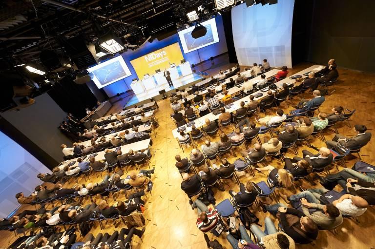Bereits zum 16. Mal hat der Technologie- und Expertenkongress NIDays, der am 17. April 2013 im Studio 44 der Österreichischen Lotterien in Wien stattfand, etwa 150 Besucher begeistert.