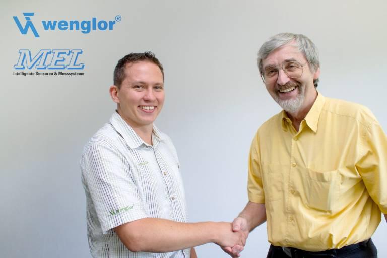 Ziehen künftig an einem Strang: Der neue MEL-Geschäftsführer Torsten Hellerström und MEL-Firmengründer und -Geschäftsführer Hans-Jürgen Langer.