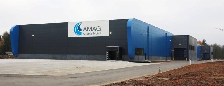 Das neue AMAG-Logistikzentrum in Ranshofen wurde in nur acht Monaten errichtet.