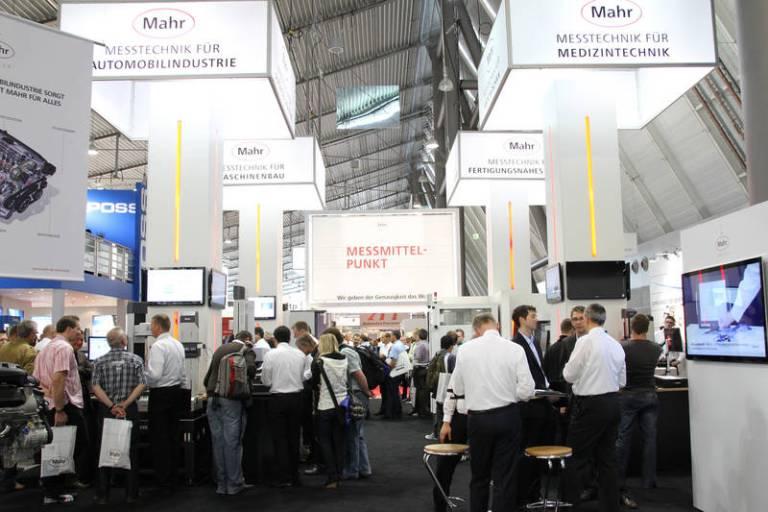 Control 2013 schon jetzt mehr Ausstellungsfläche als 2012 gebucht