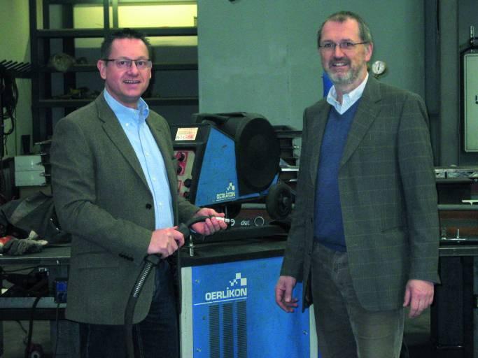 DI Guido Reuter (rechts) und Ing. IWE Christian Schurian führen die Geschäfte der 1. ISR GmbH.