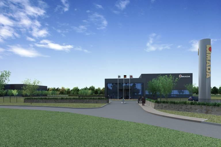 AMADA Technical Center: Fertigstellung und Erstbezug im April 2013