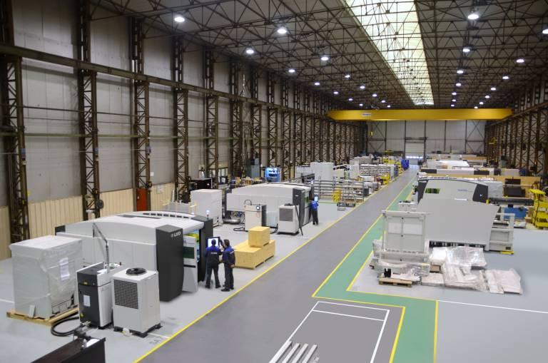 WCM wurde an weiteren LVD Fertigungsstandorten realisiert.
