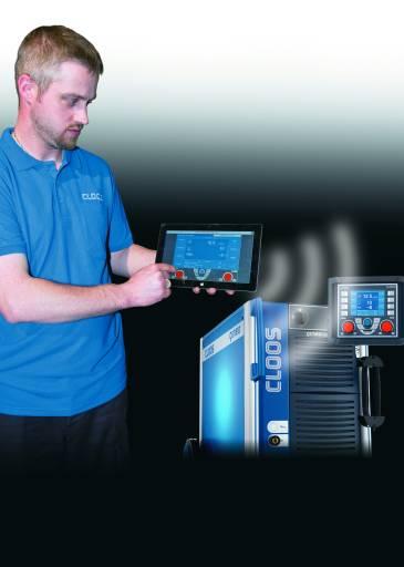 Touch-Tablets revolutionieren die Bedienung von Schweißstromquellen.