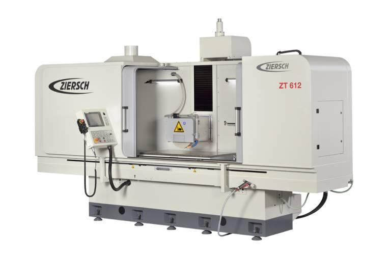 Die Flachschleifmaschine ZT 612 verfügt über einen Schleifbereich von 1.200 x 700 mm.