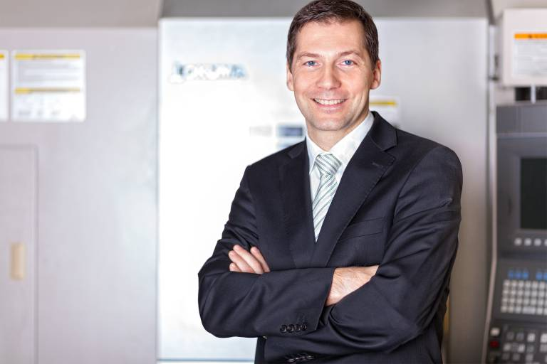 Ing. Anton Köller   Geschäftsführer precisa CNC-Werkzeugmaschinen GmbH