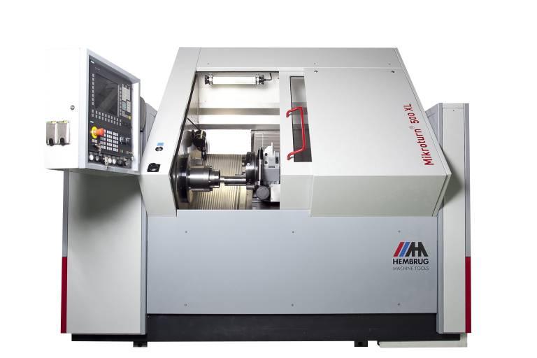 Hembrug`s Mikroturn® 500 XL Ultrapräzisions-Hartdrehmaschine.