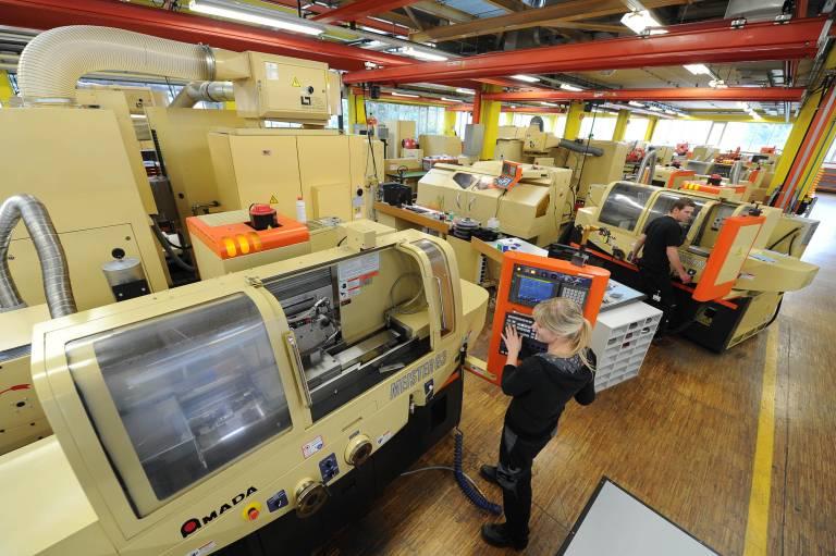 Mit dem japanischen Schleifmaschinenhersteller Amada hat das österreichische Familienunternehmen Blum den Wunschpartner im Schleifen gefunden. Alle Fotos: Julius Blum GmbH