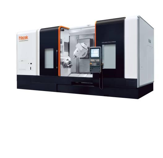 Die Siemens SINUMERIK-Steuerung 840D sl wird für ausgewählte Mazak-Maschinen angeboten - darunter auch die INTEGREX e-500H II.