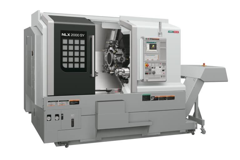 Ausgestattet mit zweiter Spindel und Y-Achse bietet die NLX2000SY/500 unterschiedlichste Bearbeitungsmöglichkeiten.