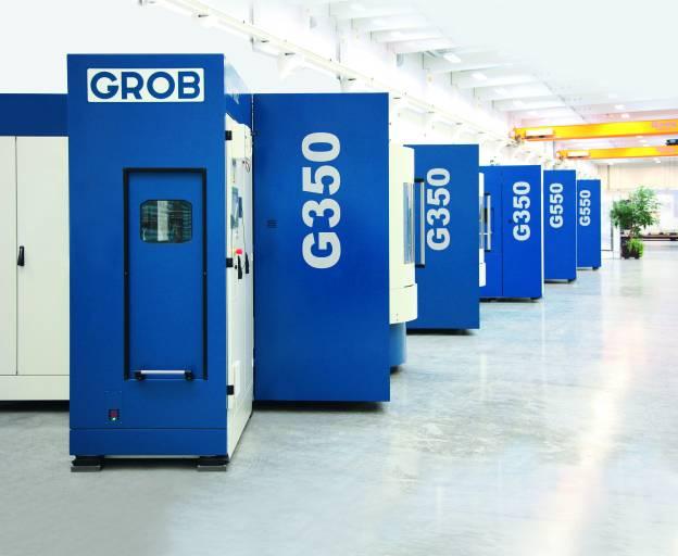 Im Jahr 2012 konnte Grob ein Verkaufsvolumen von 200 Universal-Maschinen der Modelle G350, G550 und G550T erzielen.